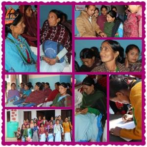 FCHVs in Sugarkhal, Kailali